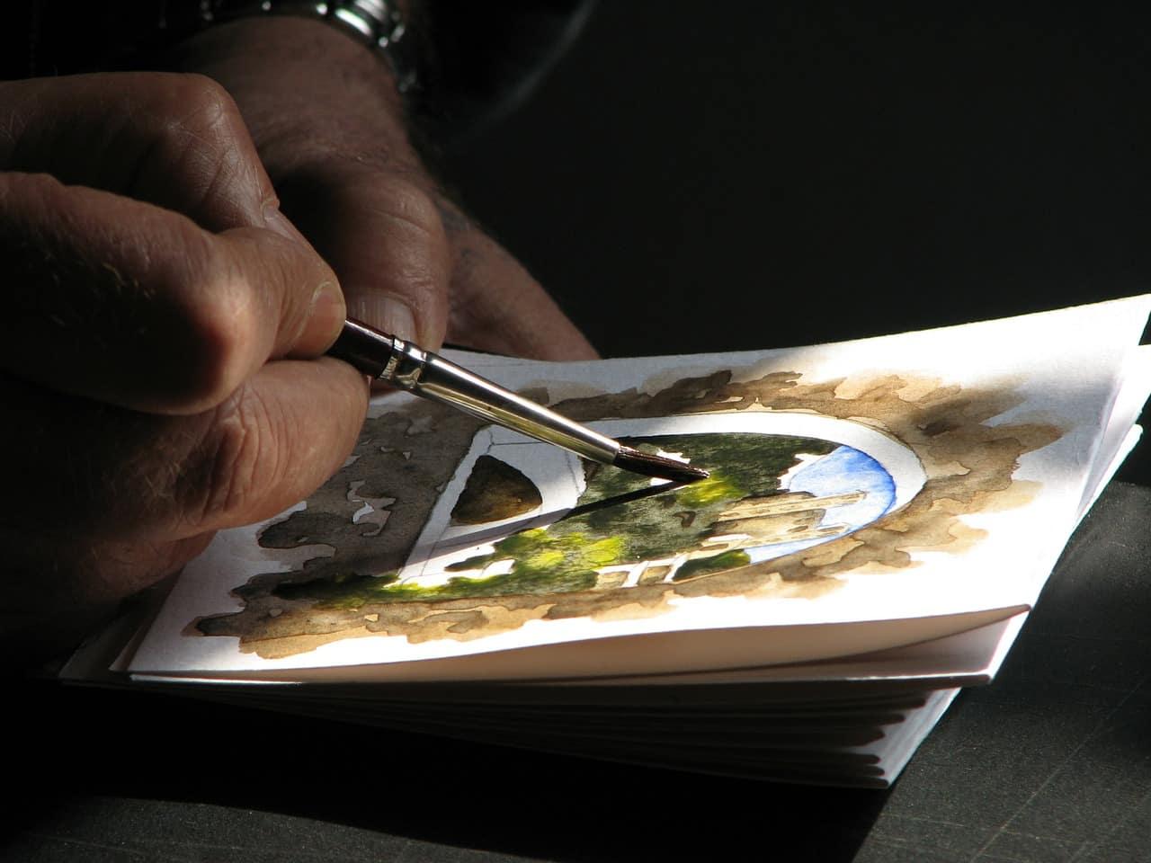 Liebeskummer überwinden - Malen Kunst