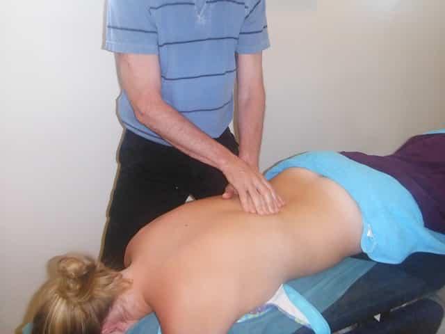 Richtig massieren - Rücken massieren