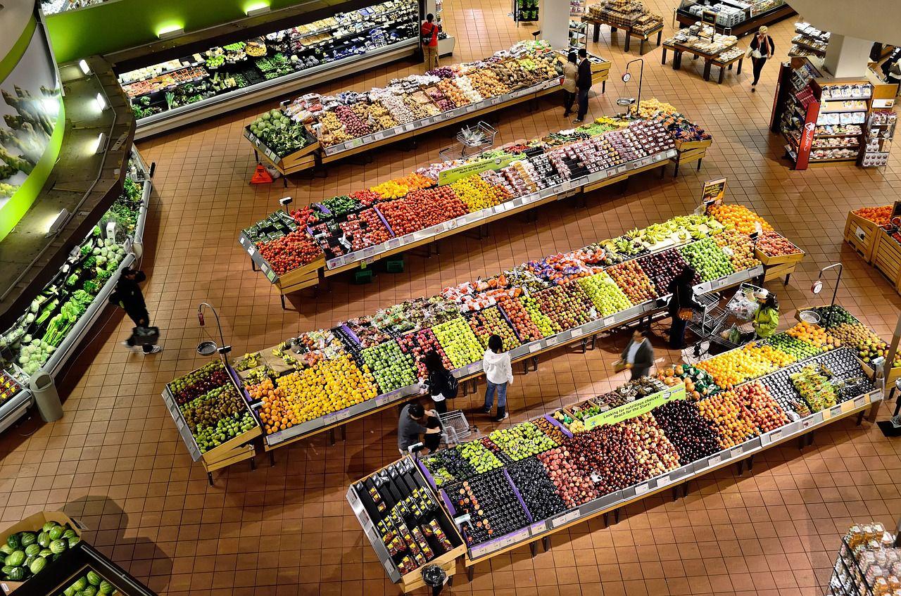 Ein Supermarkt bietet viele Möglichkeiten um einen Mann anzusprechen