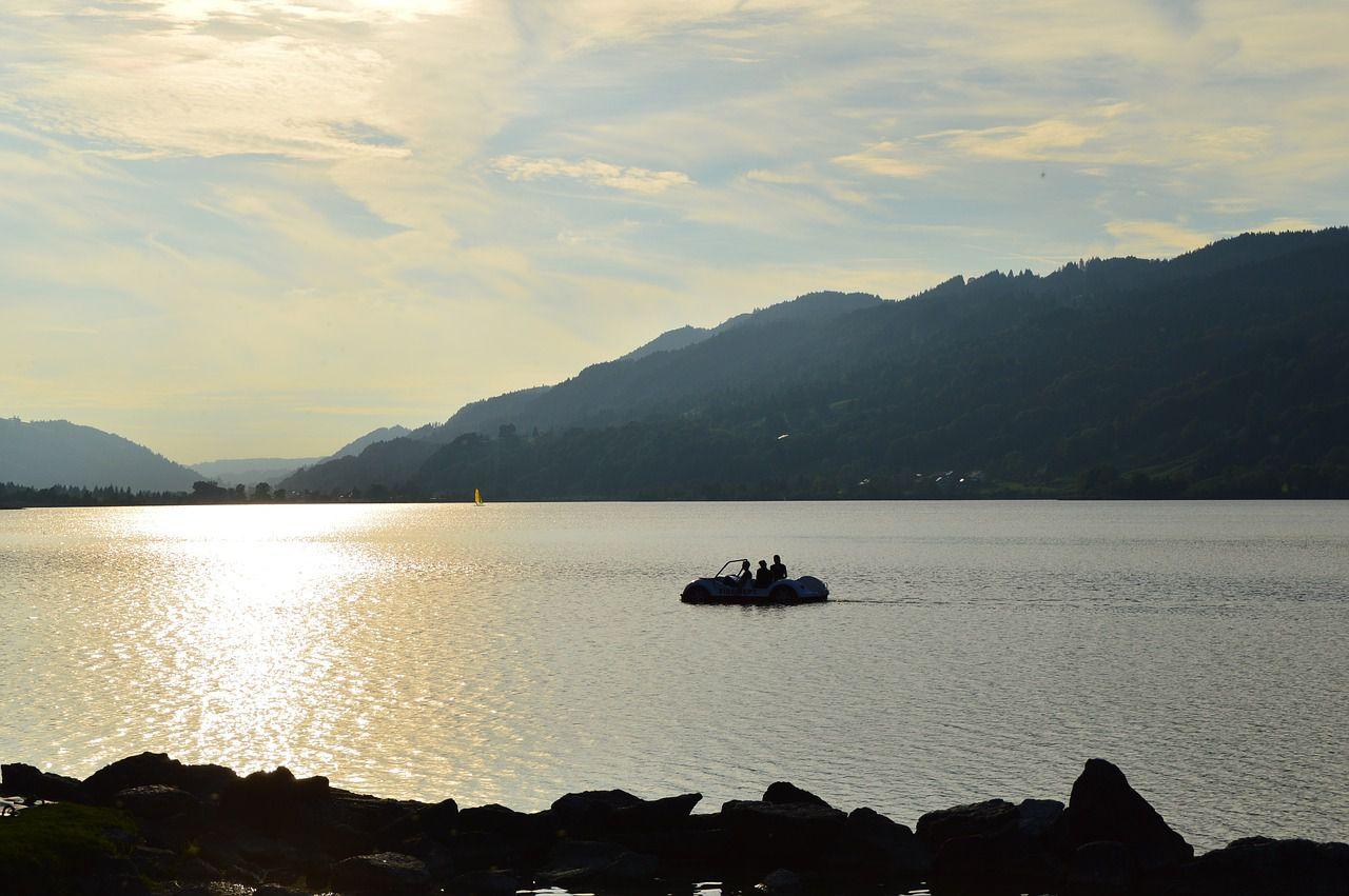 Auch Tretbootfahren ist eine schöne Alternative für eine erstes Date