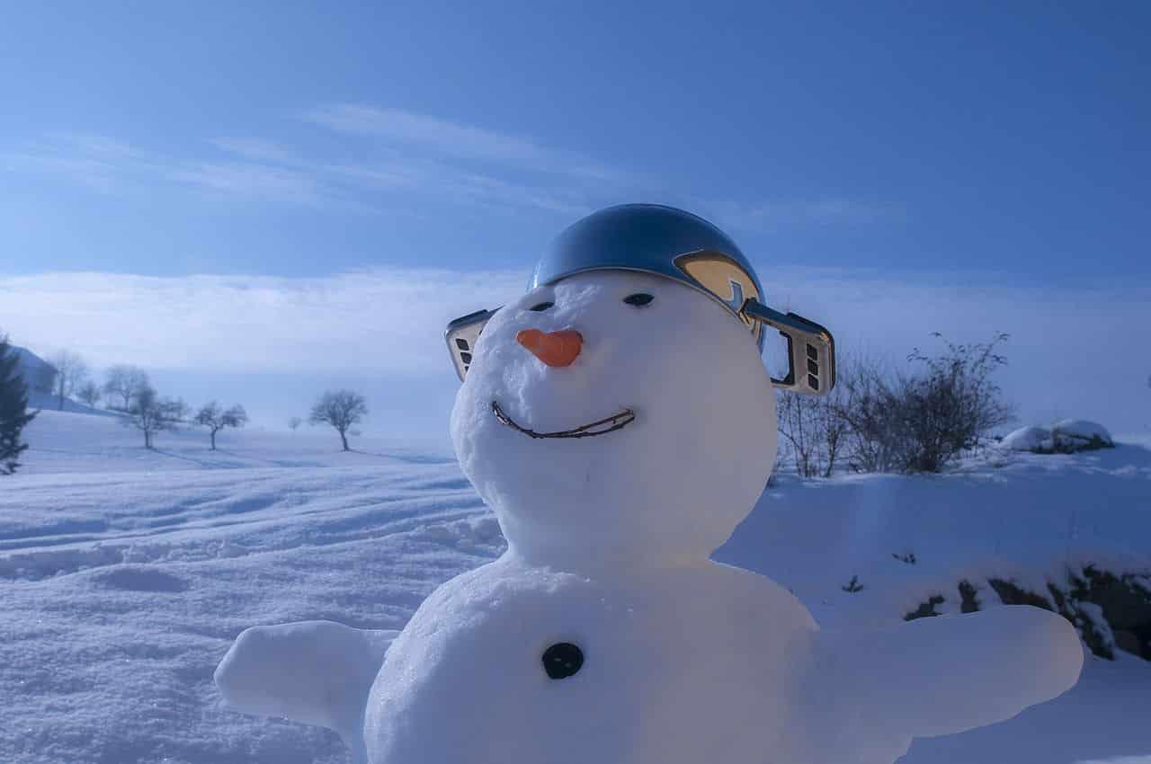 Erstes Date wohin - Schneemann bauen