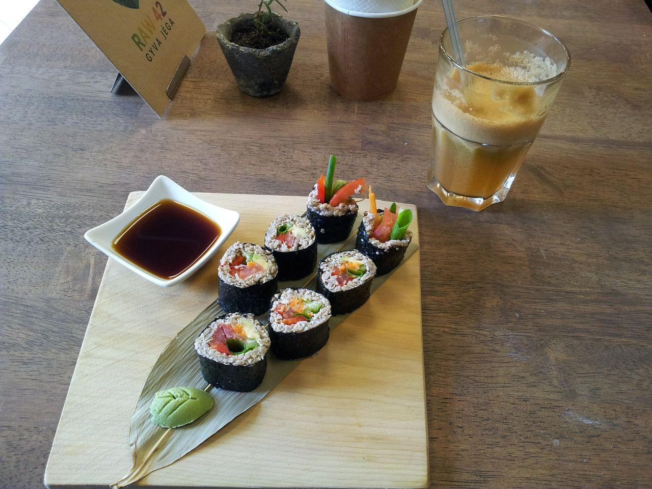 Erstes Date wohin - Sushi essen