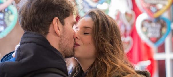 Küssen beim ersten Date