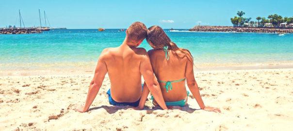 Der erste Urlaub als Paar