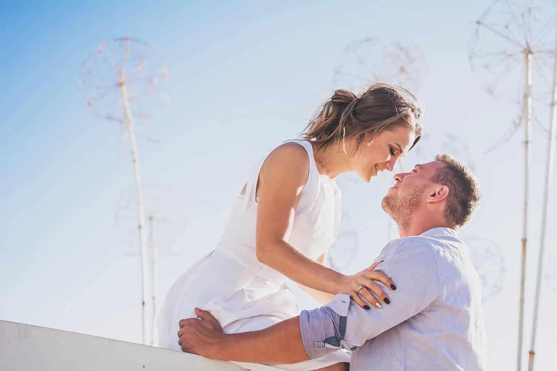 Ein sich liebendes Paar welches sich treu ist