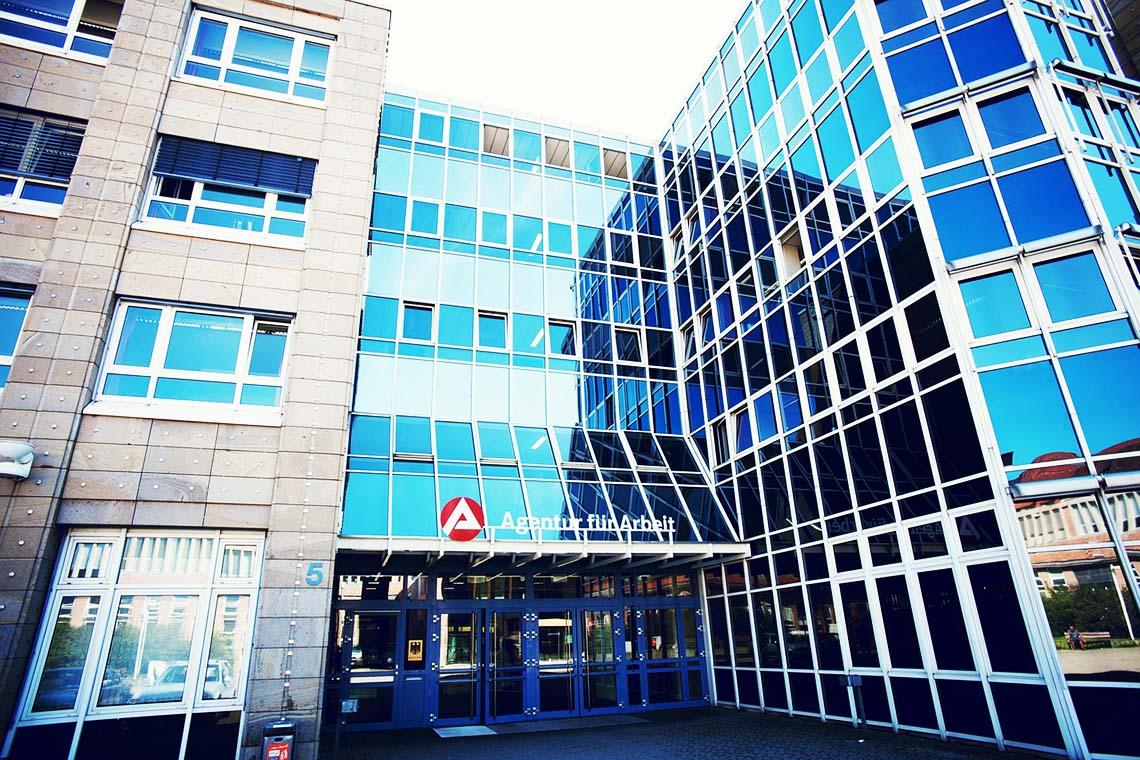 Gebäude vom Arbeitsamt