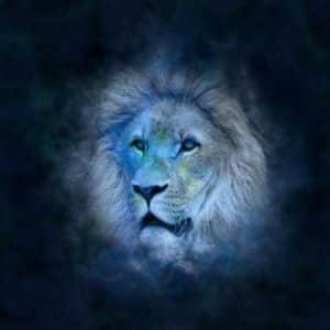 Löwe Mann erobern