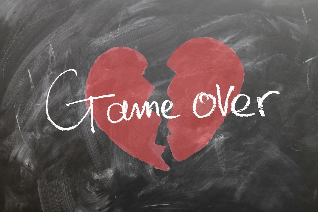 ungluecklich verliebt - game over