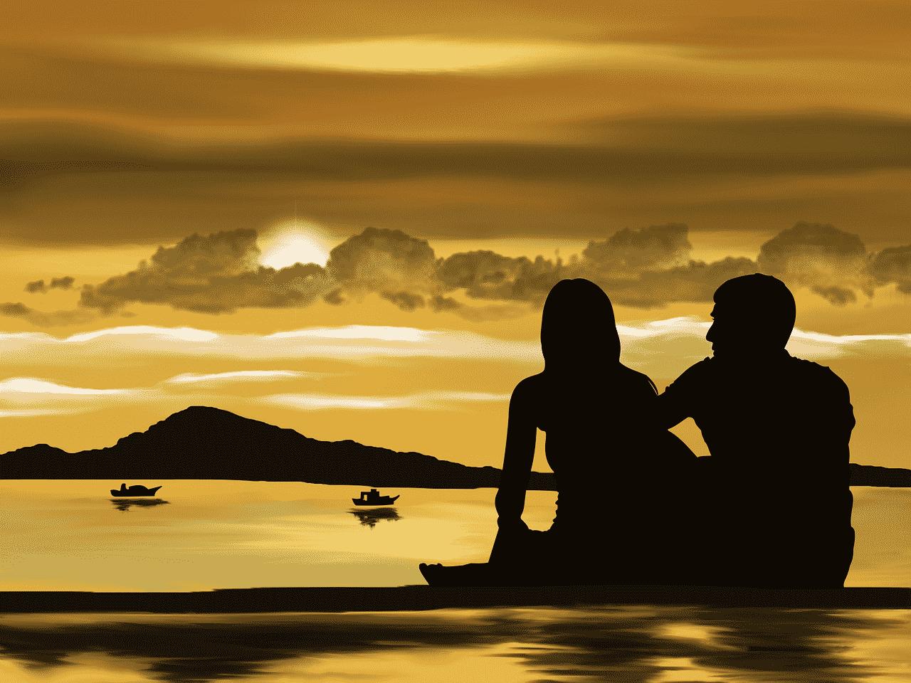 Waage Mann erobern - Beziehung