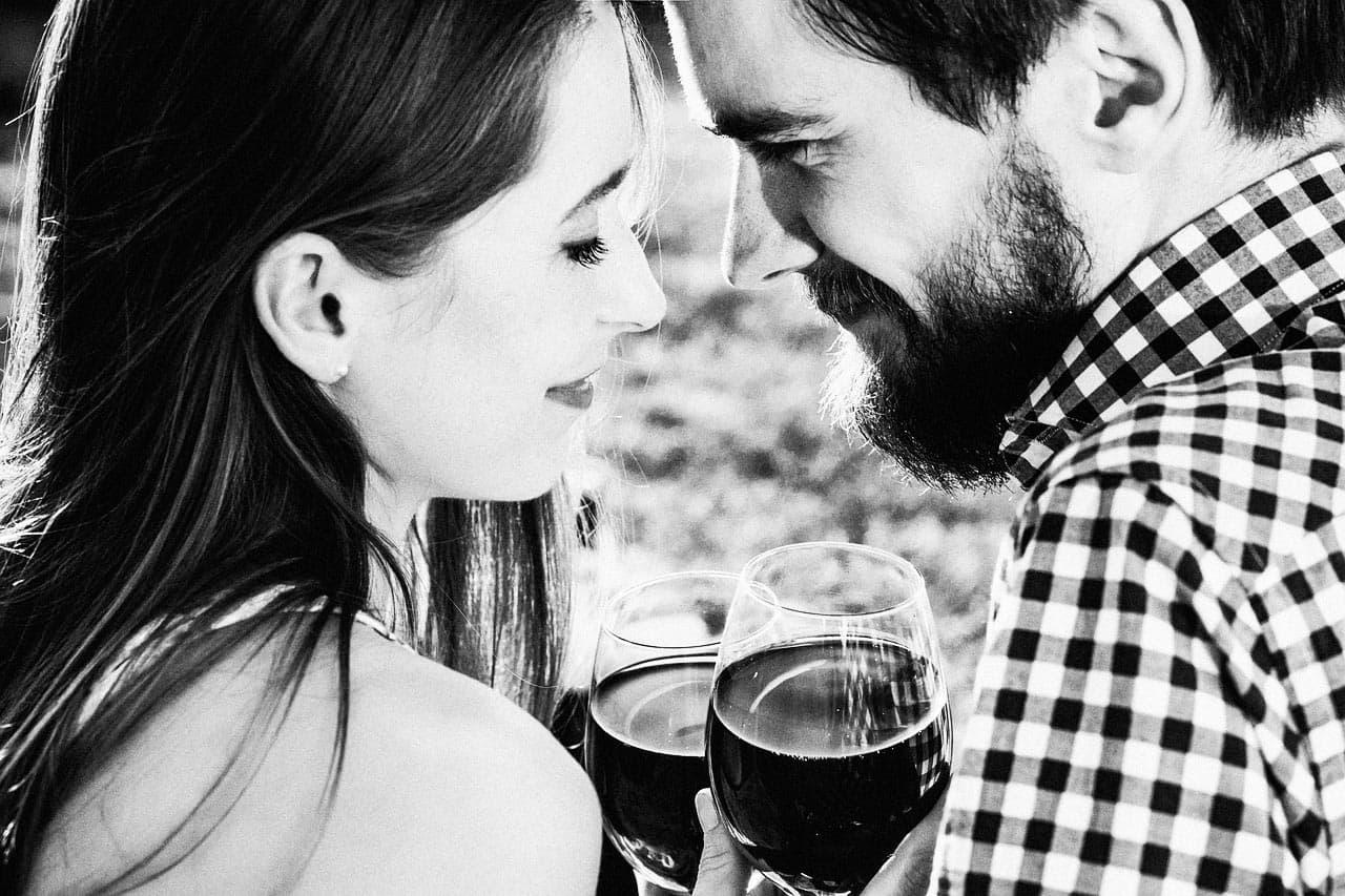 Außergewöhnliche Ideen für das erste Date Weinverkostung