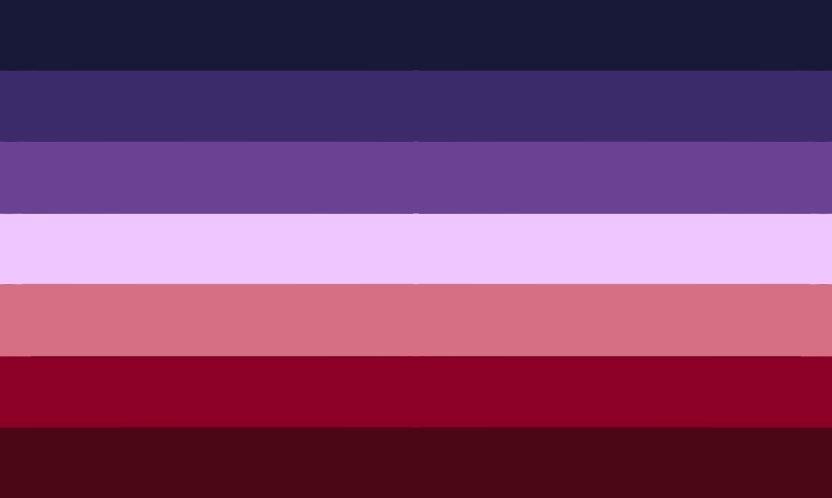 Lesbische Beziehung - Lesbian Pride Flag