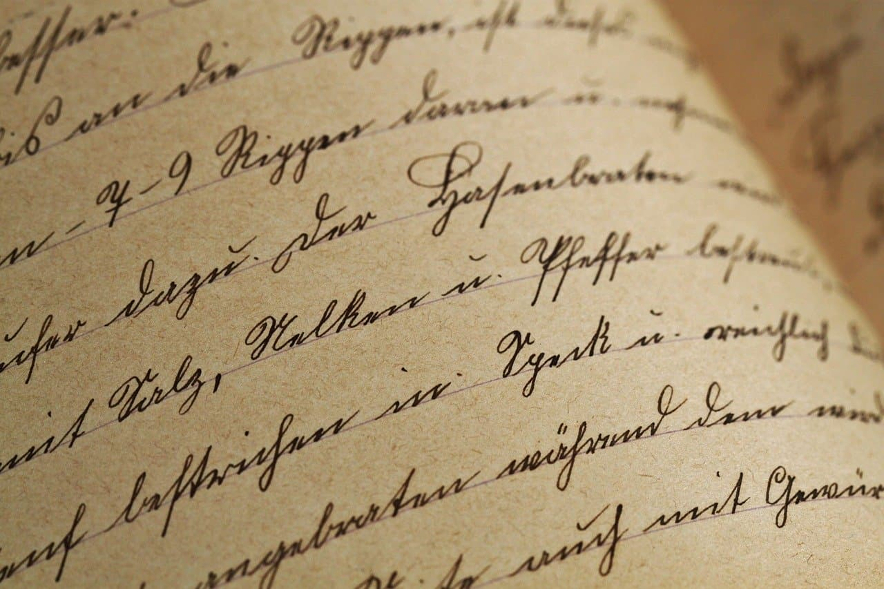 Einen Brief schreiben