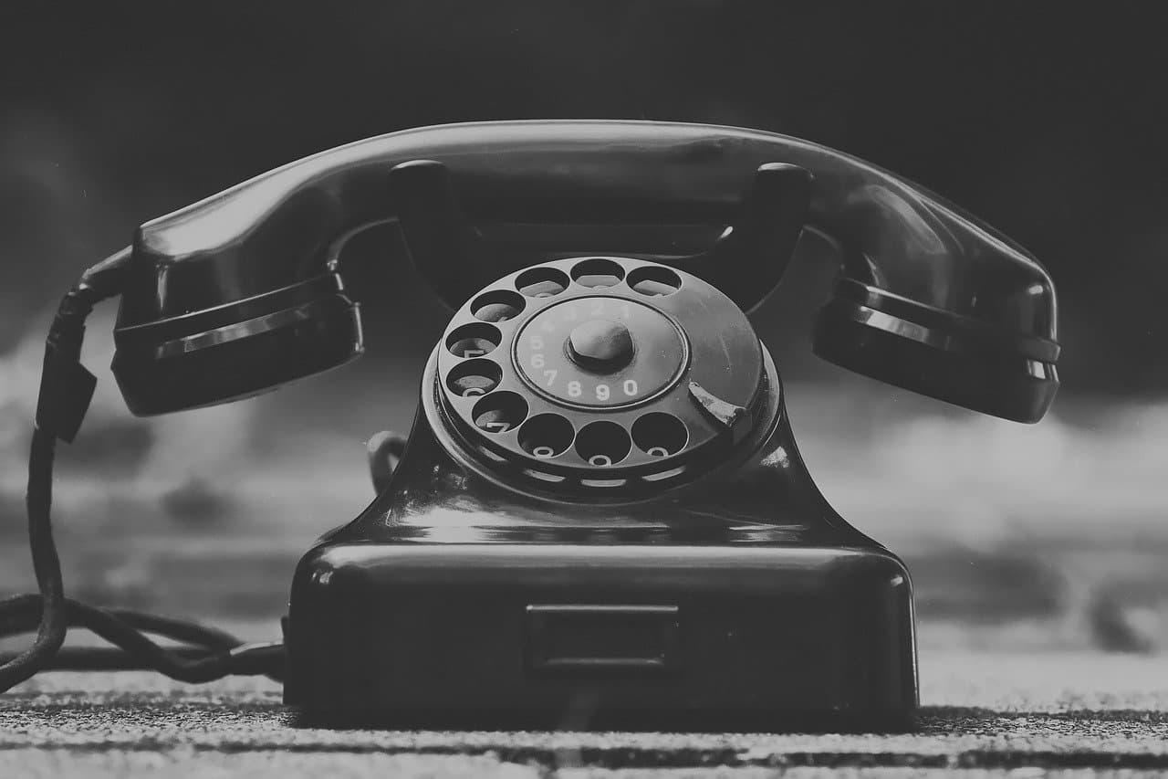 Nicht anrufen und schreiben