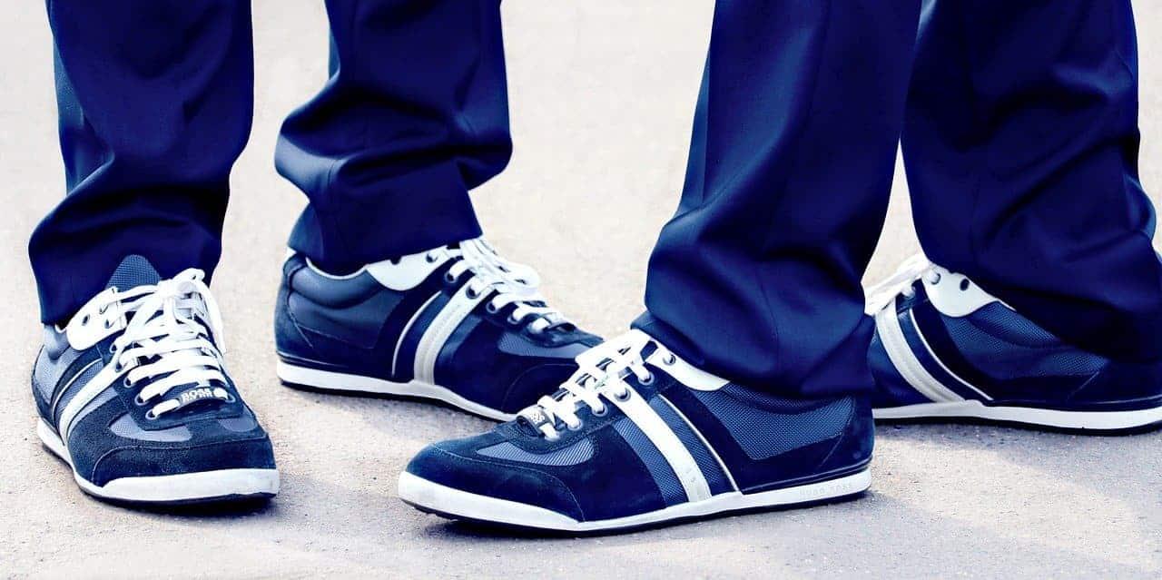 Saubere Schuhe sind wichtig
